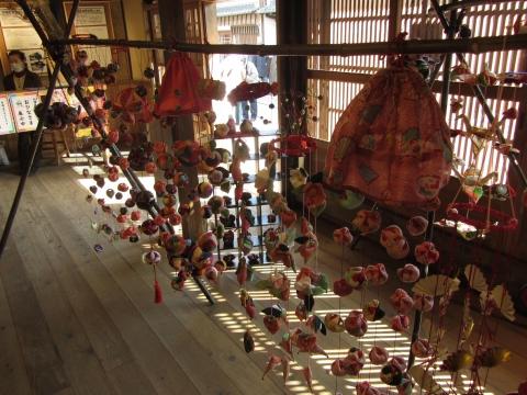 旧落合家の吊るし飾り