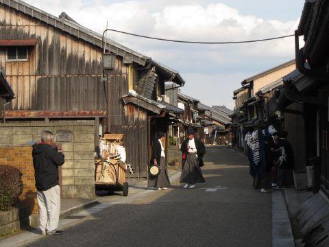 関宿中町にて