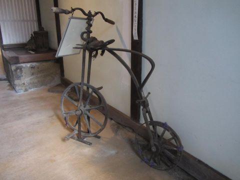 明治の自転車