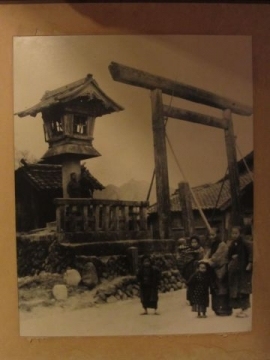 東の追分古写真