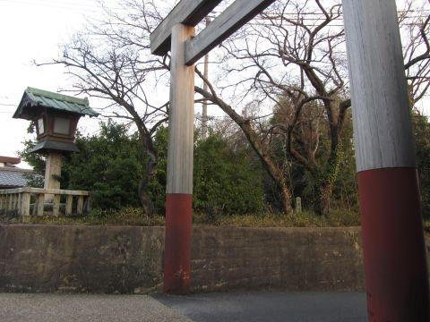 関一里塚跡