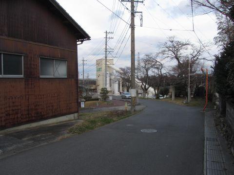 旧東海道 関町小野