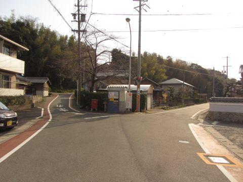 旧東海道 布気町