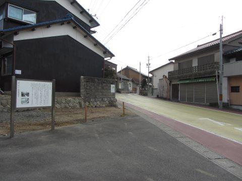 亀山城京口門跡