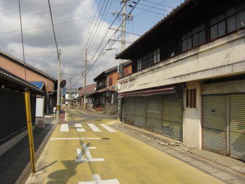 亀山宿旧西新町