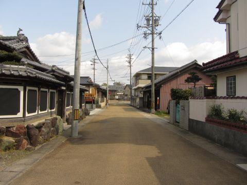 亀山宿旧西町