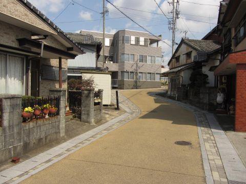 亀山宿旧横町
