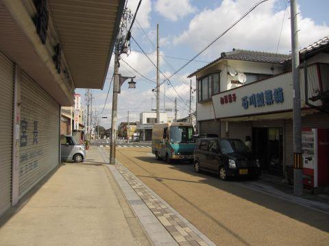 亀山宿横町