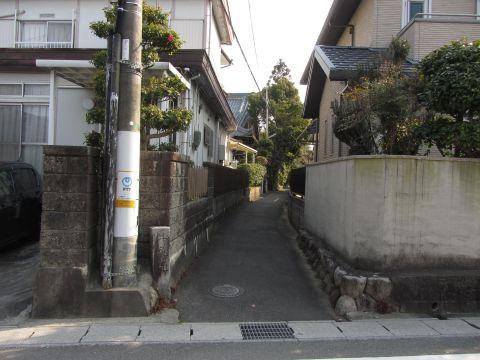 旧東海道・井尻道分岐