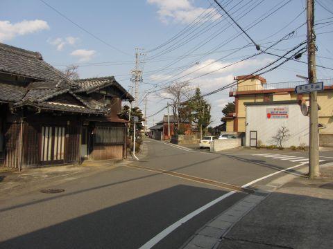 旧東海道 和田町