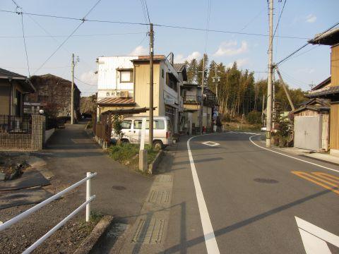 旧東海道・田村道分岐