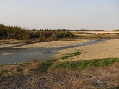 和泉川の渡し跡