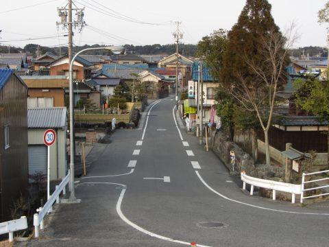 旧東海道 西富田町