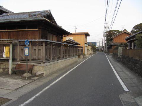 旧東海道 中富田町