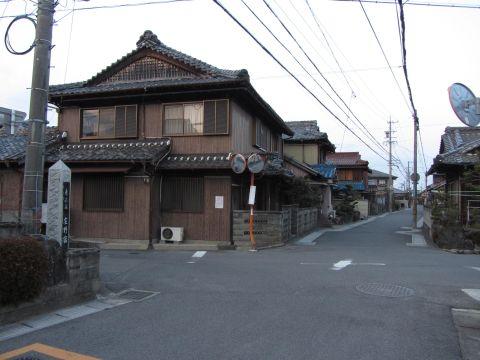 庄野宿京方入口