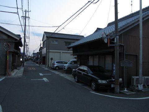 庄野宿脇本陣・高札場跡