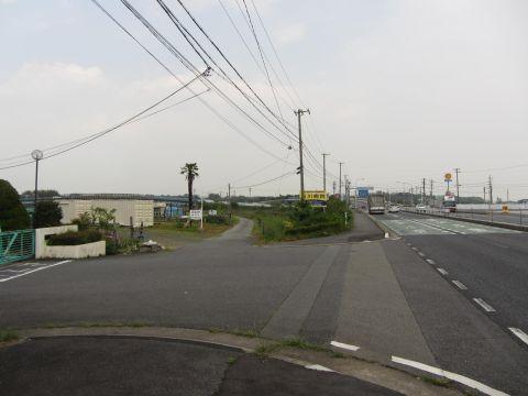 旧東海道 上野町
