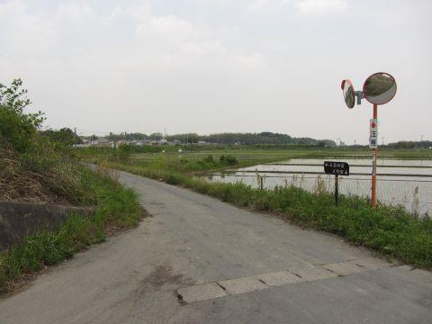 旧道消失 上野町