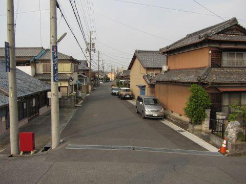 旧東海道 釆女町