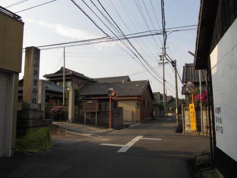 旧東海道 小古曽2丁目