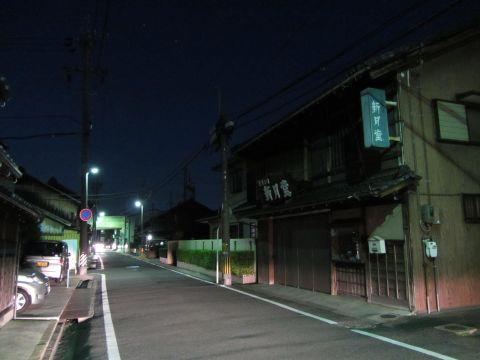 旧東海道 南浜田町