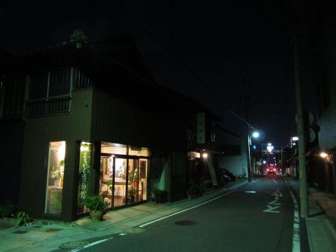旧東海道 中浜田町