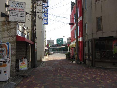 旧東海道 諏訪栄町
