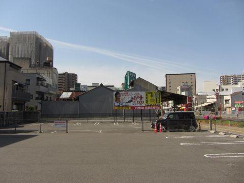 旧南町の旧東海道消失地点