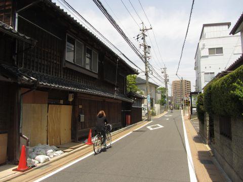 旧東海道 南富田町