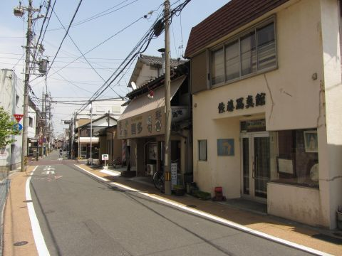 旧東海道 四日市市富田