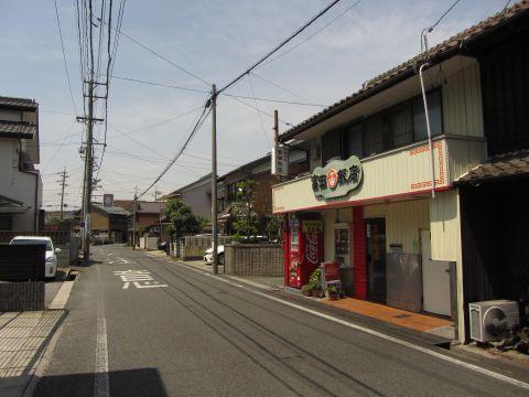 街道の行く先へ 富田の焼き蛤
