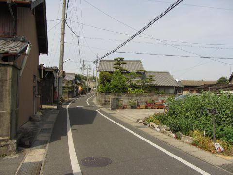 旧東海道 四日市市松寺