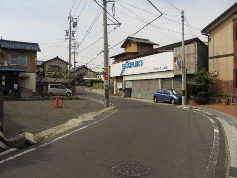 旧東海道 朝日町柿