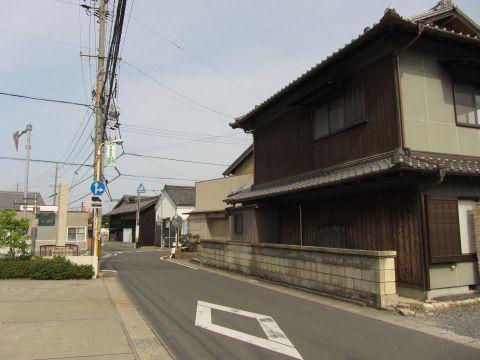 旧東海道 朝日町小向