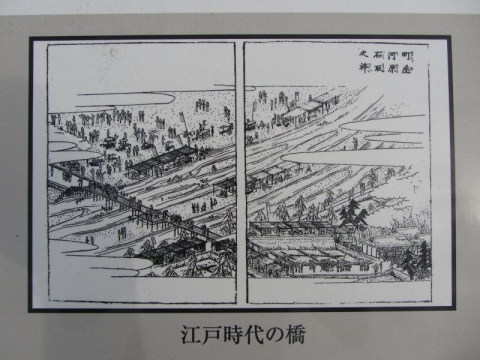 江戸時代の町屋橋