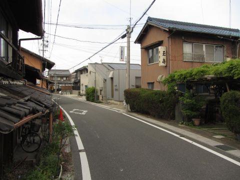 旧東海道 桑名市安永