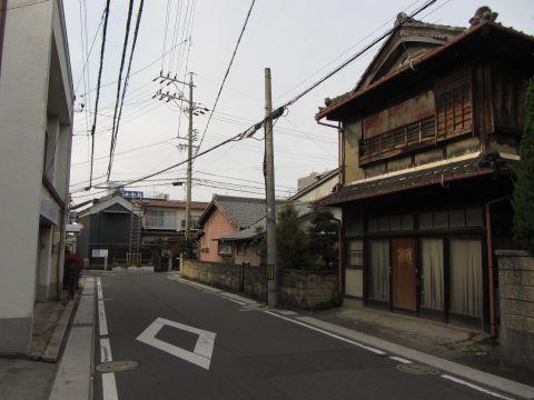 旧東海道 桑名市西矢田町