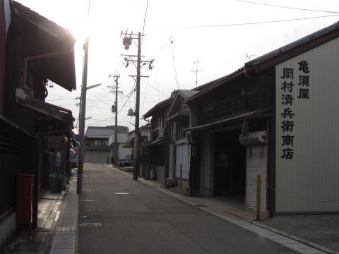旧東海道 桑名市西矢田町03