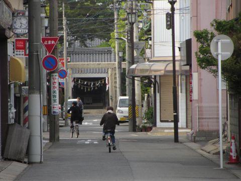 立坂神社参道