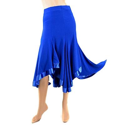 裾トリミングラテンスカート