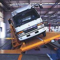 トラックの構造変更検査
