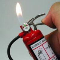 消火器のライター
