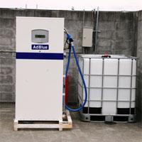 AdBlueの給油所