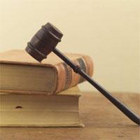 裁判で使う木槌