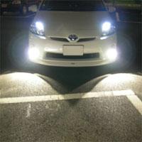 LEDのフォグランプ