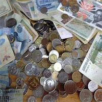 色んな国のお金