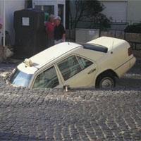 おもしろ事故車