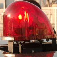 赤の回転灯