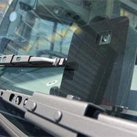 車線逸脱防止システムのカメラ