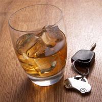 お酒と車の鍵